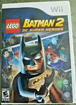 Nintendo Wii LEGO Batman 2 DC Super Heroes. Case & manual included. - $7.50