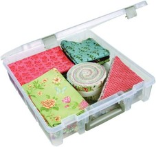 ArtBin 6955AB Super Satchel 1-Compartment Box - Clear, Craft Supply Stor... - $22.32