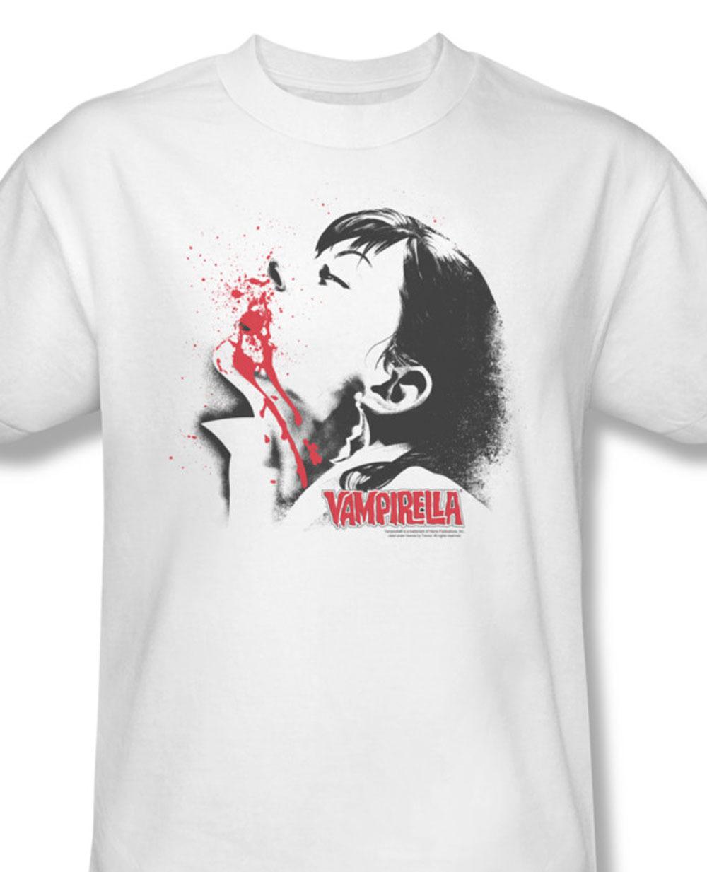 at vampirella elvira gothic pin up girls comic book horror for sale online white graphic tshirt