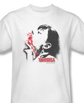 Rella elvira gothic pin up girls comic book horror for sale online white graphic tshirt thumb200