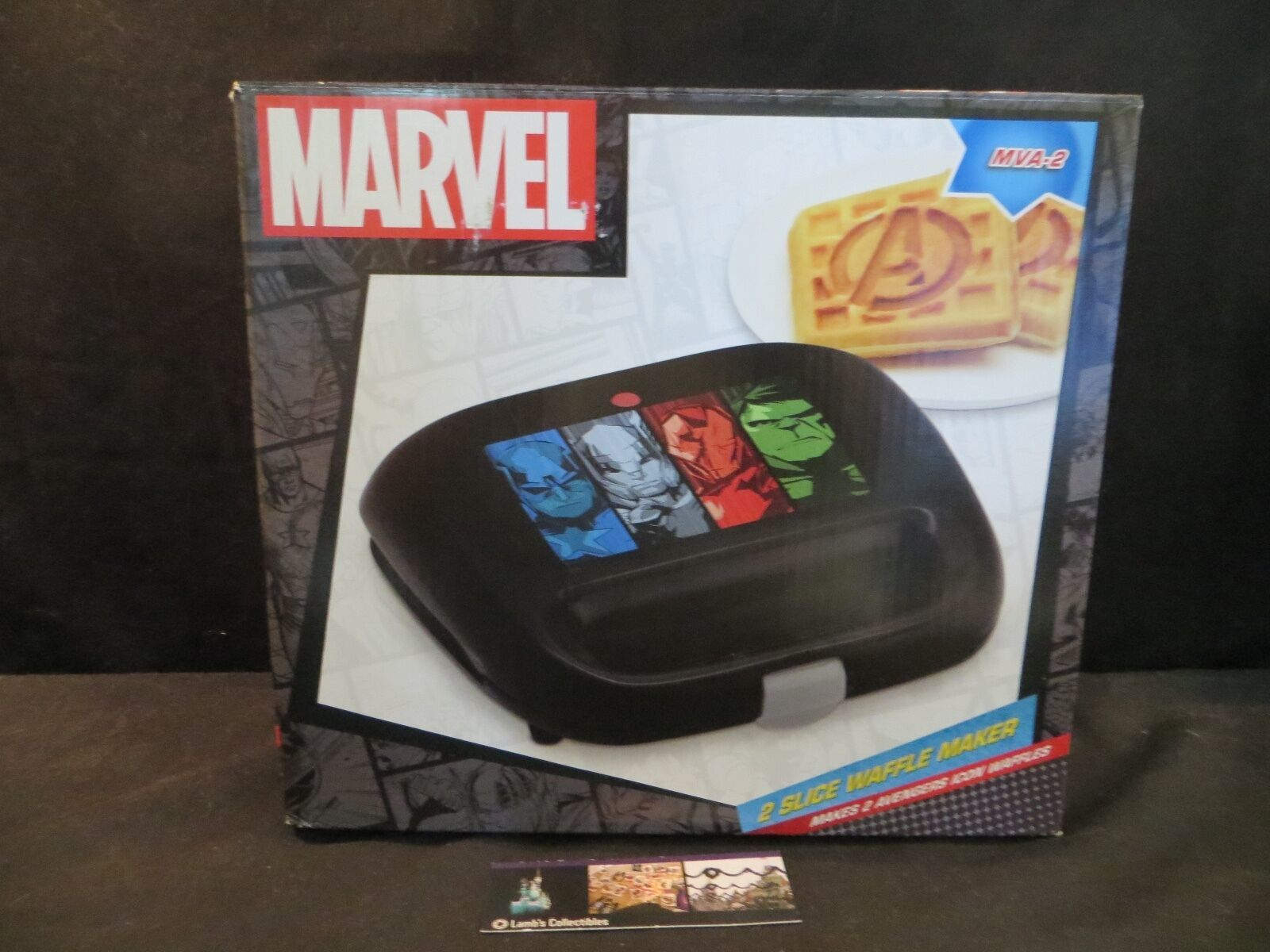 Primary image for Marvel Avengers Waffle Maker MVA-2 Kitchen Appliance