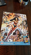 2017 Sdcc Comic con Exclusivo Botín Dk Dc Wonder Woman 2 Costado Promo T... - $14.77