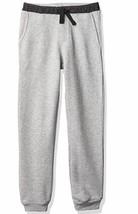 Calvin Klein Boys' Grey Logo Waistband Jogger Pants, Medium (10-12) - $27.23