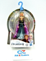 """Disney Hasbro Frozen II 2 Queen Anna, Small Doll 4"""" with Removable Cape - NEW - $14.80"""