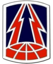 US Army 335th Signal Brigade Combat Service Badge (2 inch) - $14.84