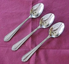 Towle Supreme Cutlery Magic Flute 3 Teaspoons Stainless Japan Flatware VGC - $23.76