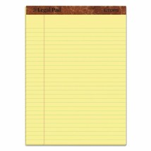Docket Gold Writing Pads Legal Rule Canary Paper 50 Sheets 12 Pack Schoo... - $14.84+