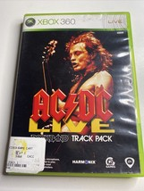 AC/DC Live: Rock Band Track Pack (Microsoft Xbox 360, 2008) COMPLETE -Free Ship - $7.69