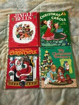Vintage Children's Christmas Books A Little Golden Book Lot of 4 Books - $12.86