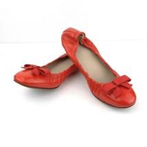 Tory Burch Reva Orange patent leather ballet flats Size 6 US - $74.24