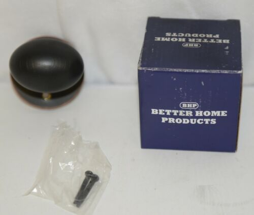 Better Home Products 41911DB Egg Knob Handle Set Trim Dark Bronze