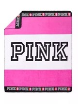 "Victorias Secret VS PINK Collection Cozy Blanket 50"" x 60"" Super Soft Throw - $48.37"