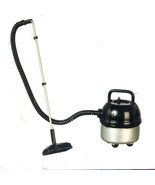 Dollhouse Miniature - SILVER Workshop Canister Vacuum Cleaner  - 1/12 Scale - $13.99