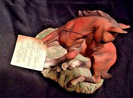 Porcelain Filly Horse Figurine HOMCO 1982 MEXICOAA18-1348 Vintage image 4