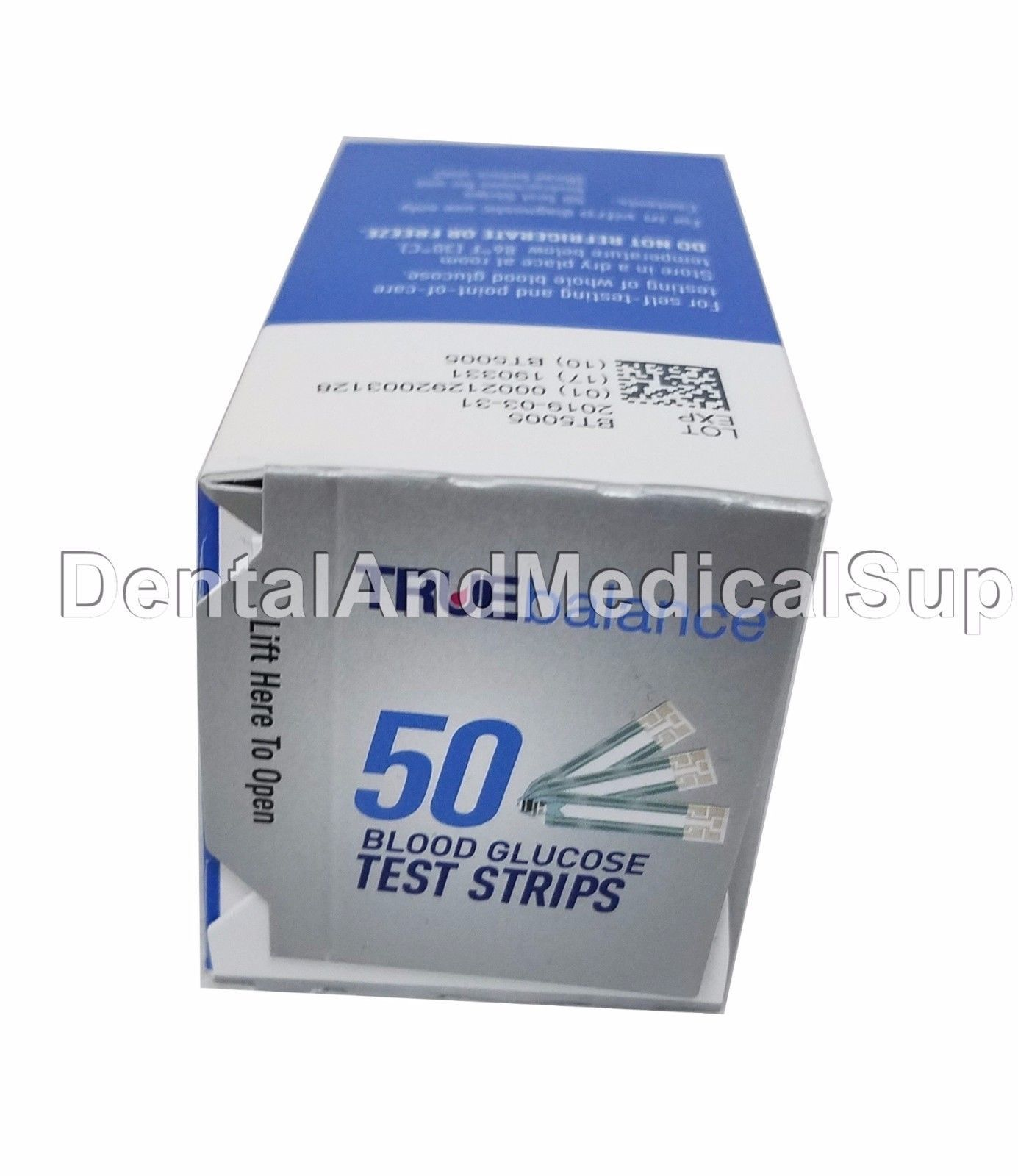 300 TRUE Balance Test Strips 6 x 50 Exp and 50 similar items