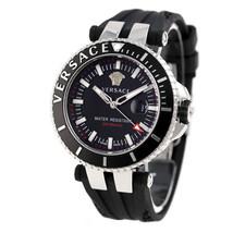 Versace VAK010016 V-Race Diver Silicone Black Dial Men's Watch - $2,578.91