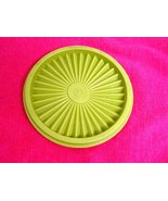 Tupperware - Green Servalier - Replacement Seal Lid - Fits 10 to 20 Ounce Bowl - $7.95