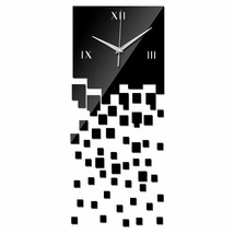 DIY Wall Clock Home Decor Living Room Quartz Watch Modern Luxury Acrylic... - $17.47