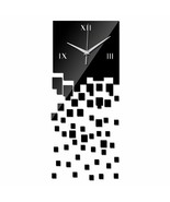 DIY Wall Clock Home Decor Living Room Quartz Watch Modern Luxury Acrylic... - $17.47
