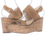 Fs8566230 steve madden caytln platform wedge slingback sandals cognac 1 thumb155 crop