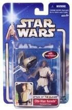 Hasbro Star Wars Obi-Wan Kenobi Coruscant Chase AOTC Action Figure NEW - $19.79
