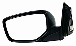 Fits 08-12 Accord Sedan Left Driver Mirror Power Non-Painted Black With ... - $51.43