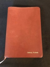 NIV Student Bible Zondervan Brown Premium Bonded Leather - NEVER USED - $28.90