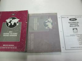 1997 FORD Crown Victoria MERCURY Grand Marquis Service Shop Repair Manual Set - $29.70