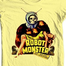 Robot Monster T-shirt retro movie science fiction retro 100% cotton tee shirt image 1