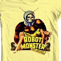 Robot Monster T-shirt retro movie science fiction retro 100% cotton tee shirt image 1