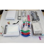 Nintendo Wii White Console (NTSC) ALL THE EXTRAS !!!!! - $69.99