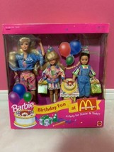 Barbie Birthday Fun at McDonald 1993 unopened limited edition - $238.58