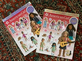Lot 2 2000 plus Unused Ultimate Stickers Collection Books American Girl ... - $17.99