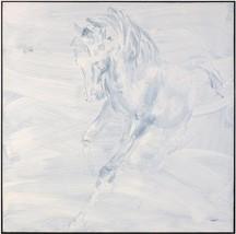 JOHN-RICHARD Painting Teng Fei's Horse Fei Black Molding - $1,919.00