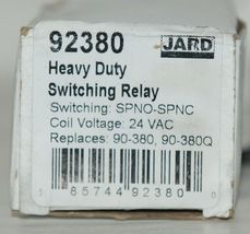 Jard 92380 Heavy Duty Switching Relay Coil Voltage 24 VAC image 4