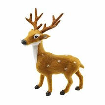 Vosarea Christmas Table Top Deer Ornaments Simulation Standing Reindeer ... - $13.92