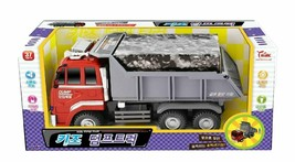 Think Toys Kids Melody Dump Truck Car Push and Go Friction Powered Vehicle Toy image 2