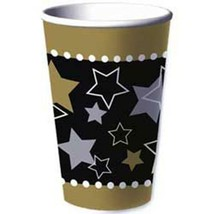 Hollywood Themed Party 16 oz Paper Beverage Cups 8 Per Package Party Supplies - $2.86