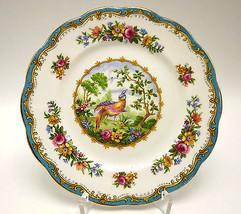 Royal Albert Chelsea Bird Bread Butter Plate England Bone China Gold Tri... - $22.76