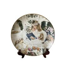 Bridget 1991 collectors plate Edwin Knowles Heirloom and Lace Series Corinne Lay - $10.99