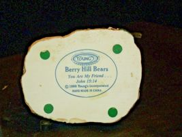 Berry Hill Bears Figurine AA-191985 Collectible Young image 7