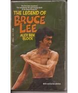 The Legend Of Bruce Lee Paperback Alex Ben Block Martial Arts Kung Fu  - $14.95