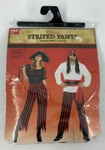 Amscan Pirate Striped Pants Halloween Costume Accessory - One Size Fits Most  - $16.82