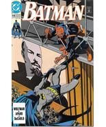 Batman Comic Book #446, DC Comics 1990 NEAR MINT NEW UNREAD - $4.50