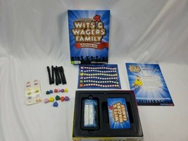 Wits And Wagers Family Board Game OPEN BOX NEW COND! COMPLETE family FUN - $20.24