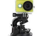 TELESIN Large Size Suction Cup Bracket Mount Holder For AEE Gopro Sony AS15 AS30