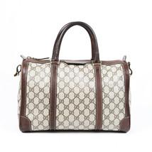 Vintage Gucci Boston Plus GG Monogram Bag - $860.00