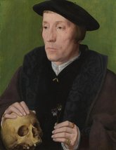 The Museum Outlet - Follower of Jan van Scorel - A Man with a Pansy and ... - $147.51