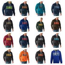 M-5XL NFL All Star Pullover Hoodie Men's Hooded Fleece Sweatshirt Licensed NEW