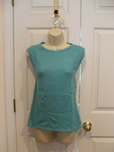 new in pkg persian blue angora blend sweater tank top  size medium - $14.10